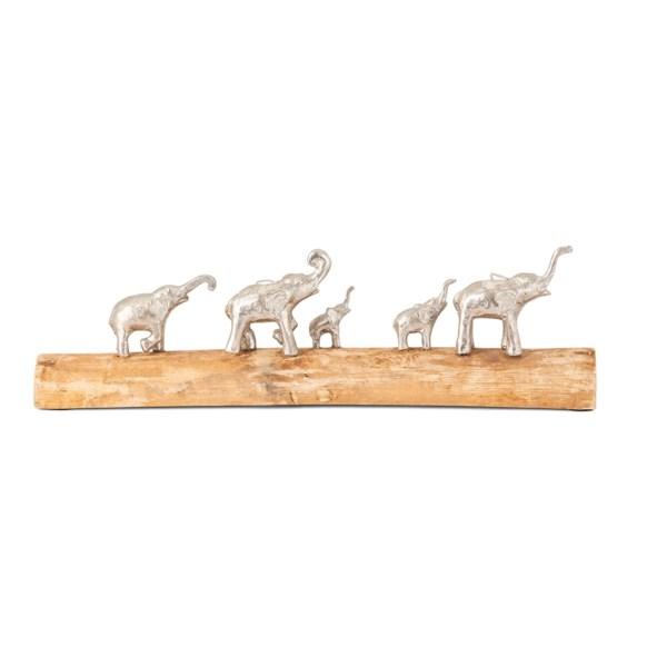 Padua Elephants on Log