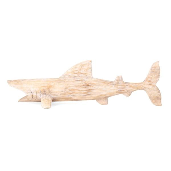 Bimini Large Carved Wood Shark
