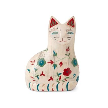 Mi Mascota Cat Handpainted Statuary