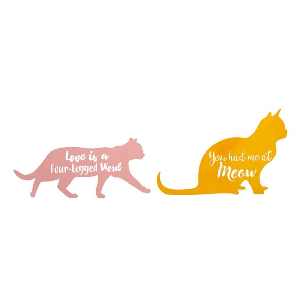 Cat Wall Decors - Set of 2