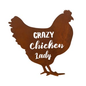 Chicken Lady Wall Decor