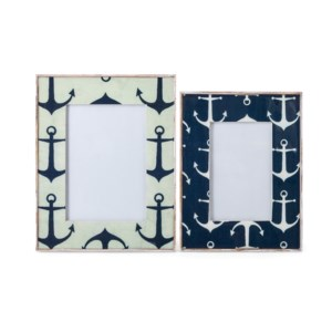 Jesson Anchor Decal Photo Frames - Set of 2