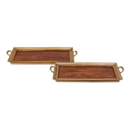 Gilda Decorative Trays - Set of 2