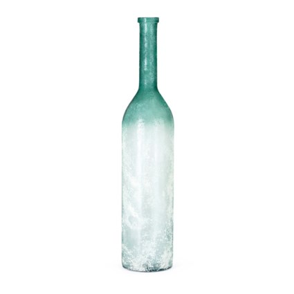 Carson SMALL Oversized Recycled Glass Bottle