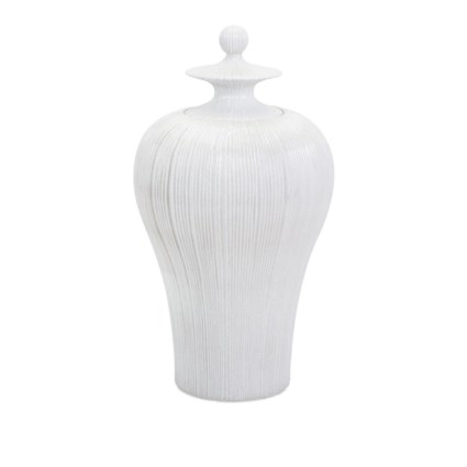 Lexyn Tall Lidded Urn