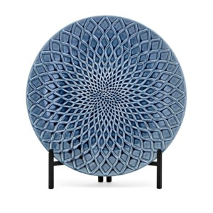 Nasrin Decorative Charger with Stand