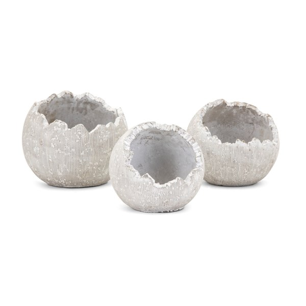 Oliver Wall Flower Pots - Set of 3