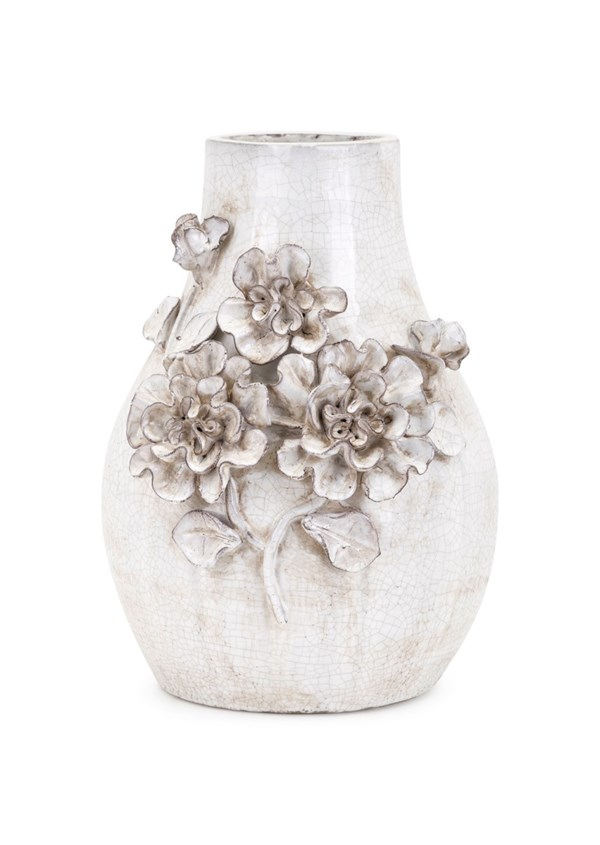 Bloom Small Stoneware Vase