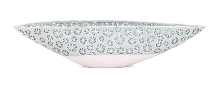 Lynna Cutwork Decorative Bowl