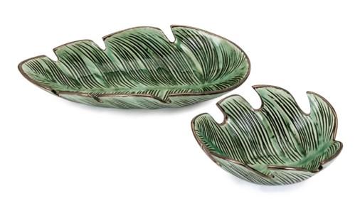 Tering Leaf Bowls - Set of 2