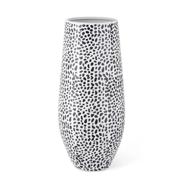 Dalmatian Dot Large Vase