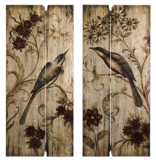 Norida Bird Decor - Set of 2