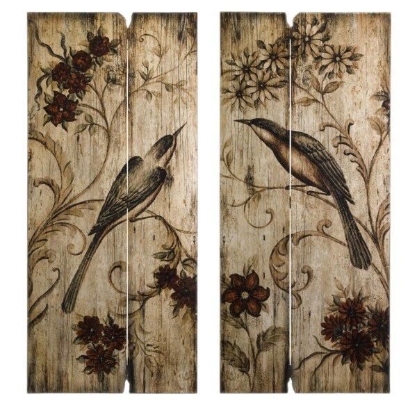 Norida Bird Decor - Set of 2