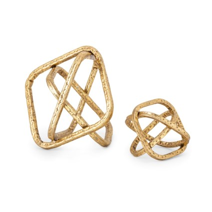 NK Sanders Decor Knots - Set of 2