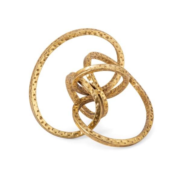 Carlise Metal Knot Decor