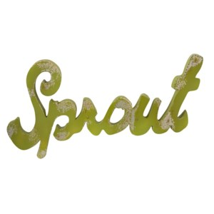 Sprout Metal Wall Decor
