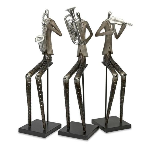 Sinatra Jazz Band Figures - Set of 3