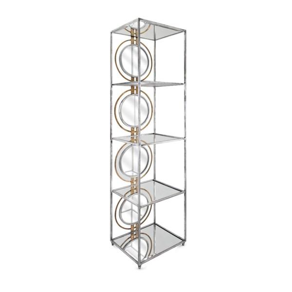 NK Spheres Mirror Bookshelf - Nk Furniture - IMAX ...