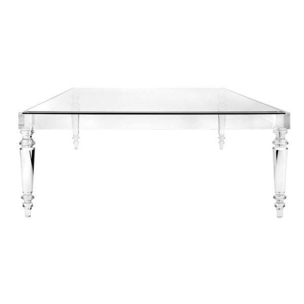 NK Devaro Oversized Acrylic And Glass Coffee Table - Nk ...
