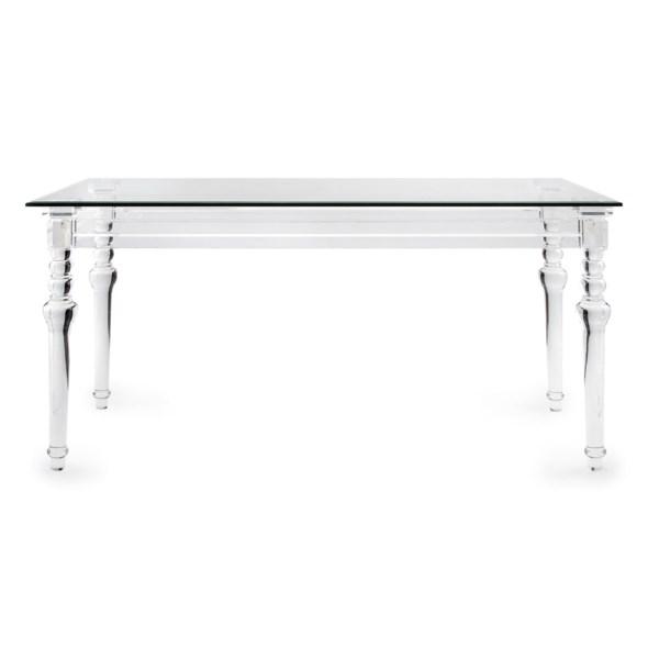 NK Harrison Acrylic Console Table - Nk Furniture - IMAX ...