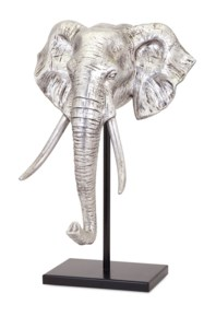 Raja Elephant Sculpture