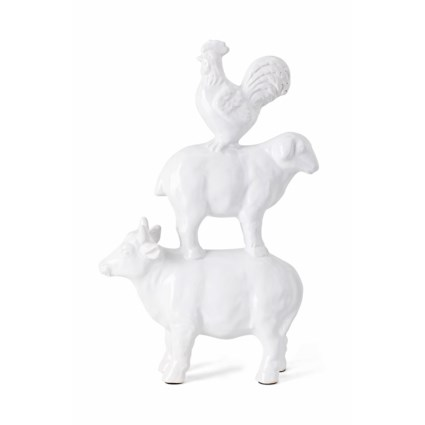 Ritter Ceramic Stacked Farm Animals