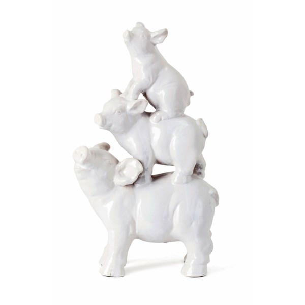 Ritter Ceramic Stacked Pigs