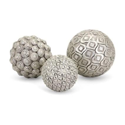 Nahara Silver Balls - Set of 3