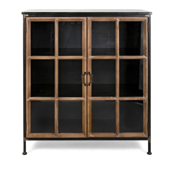 Lawrence Wood and Metal Cabinet