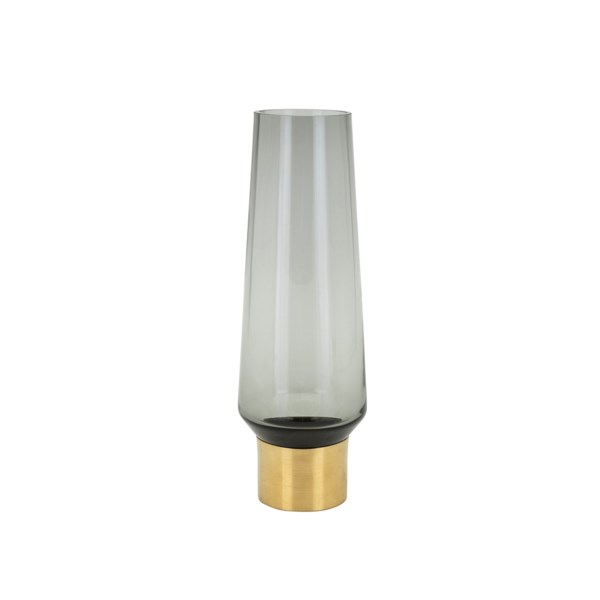 Desparte Small Glass and Metal Vase