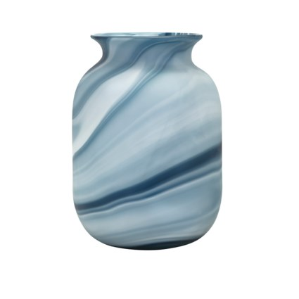 Compass Small Glass Vase