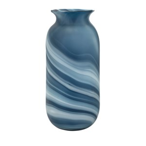 Compass Large Glass Vase