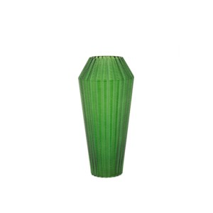 Palms Small Glass Vase