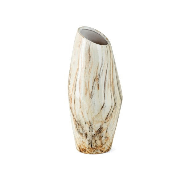 TY Coffee Talk Medium Ceramic Vase
