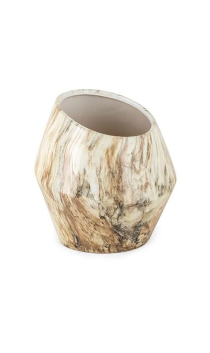 TY Coffee Talk Small Ceramic Vase