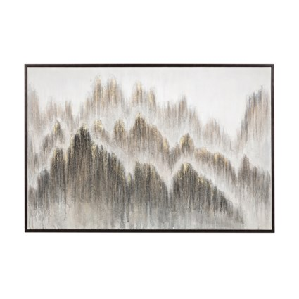 Rogue Peak Framed Oil Painting