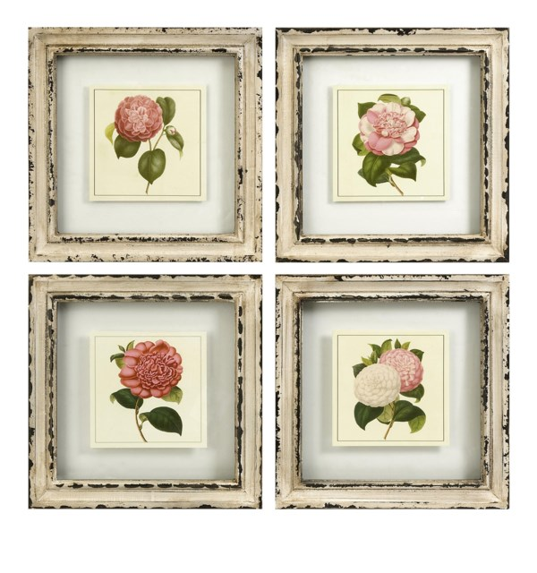 Lynette Framed Artwork - Set of 4