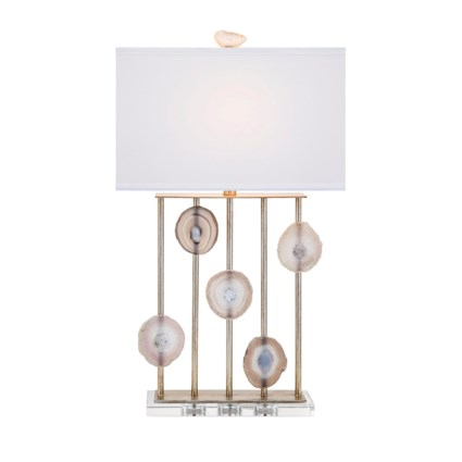 Nk Emery Agate And Crystal Table Lamp Nk Lighting Imax