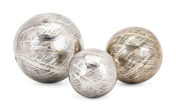 Ian Aluminum Orbs - Set of 3