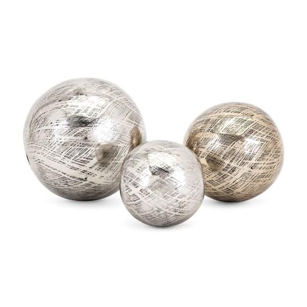 Ian Aluminum Orbs - Set of 3