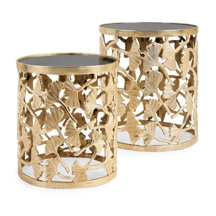 TY Luxe Ginkgo Tables - Set of 2