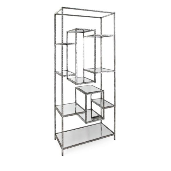 NK Quinn Mirror Bookshelf - Nk Furniture - IMAX Worldwide Home