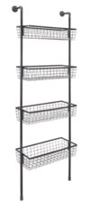 Truman 4-Basket Wall Shelf