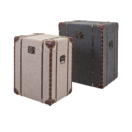 TY Outer Banks Storage Trunks - Set of 2