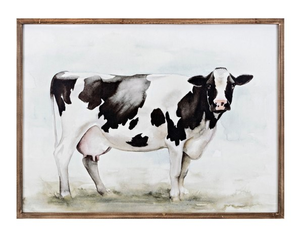 Mildred Cow Wall Decor