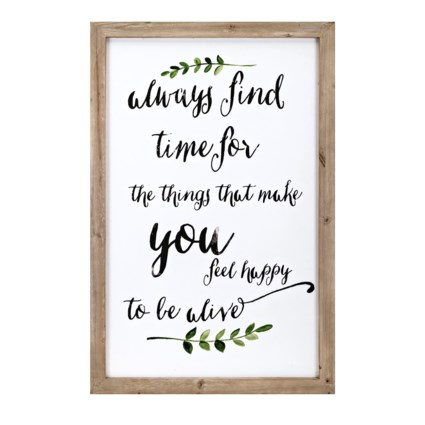 Happiness Wall Decor