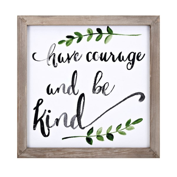 Courage Wall Decor