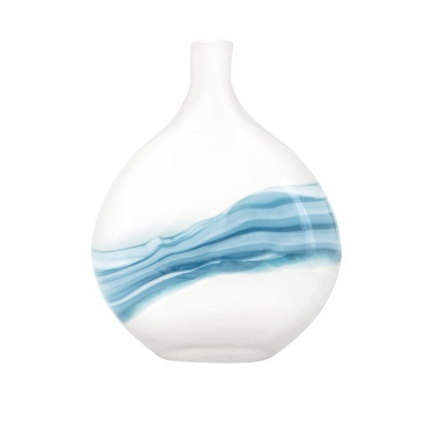 Mist Small Art Glass Vase