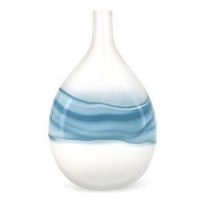Mist Large Art Glass Vase