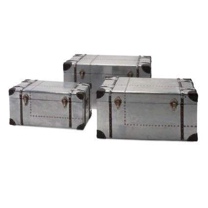Brewer Aluminum Trunks - Set of 3